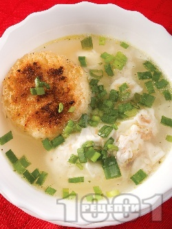 Мадридска чеснова супа с телешки аромат - снимка на рецептата
